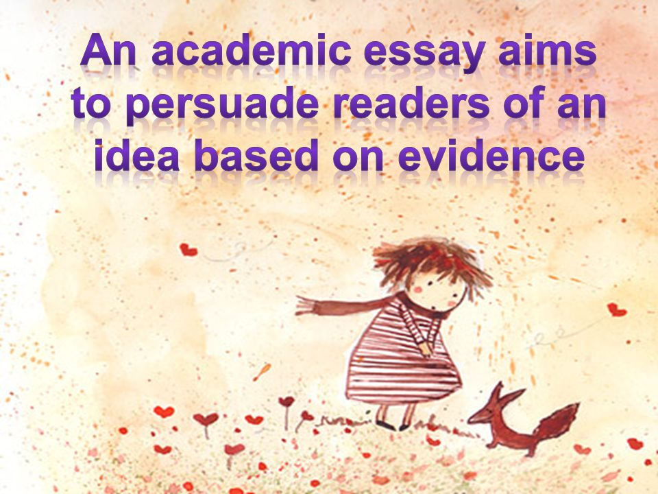 Starting the essayResearching the topic Organizing your idea Writing the essayReferencing the essay