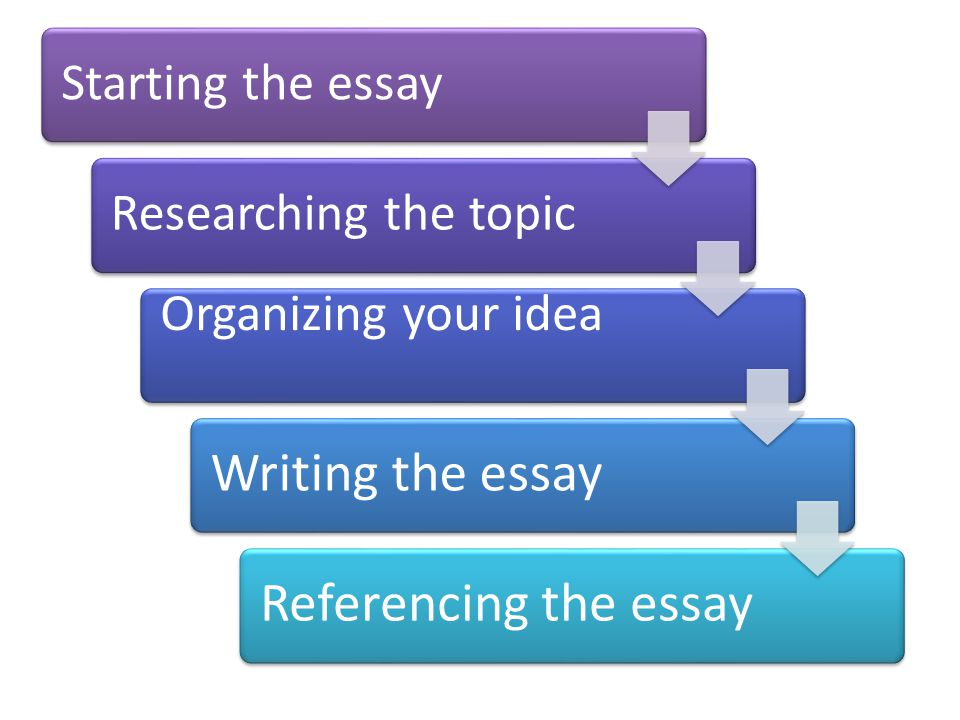 Writing And Essay