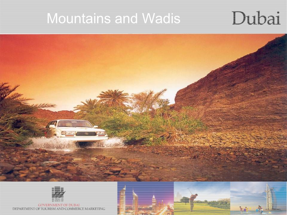 The City of Gold Mountains and Wadis