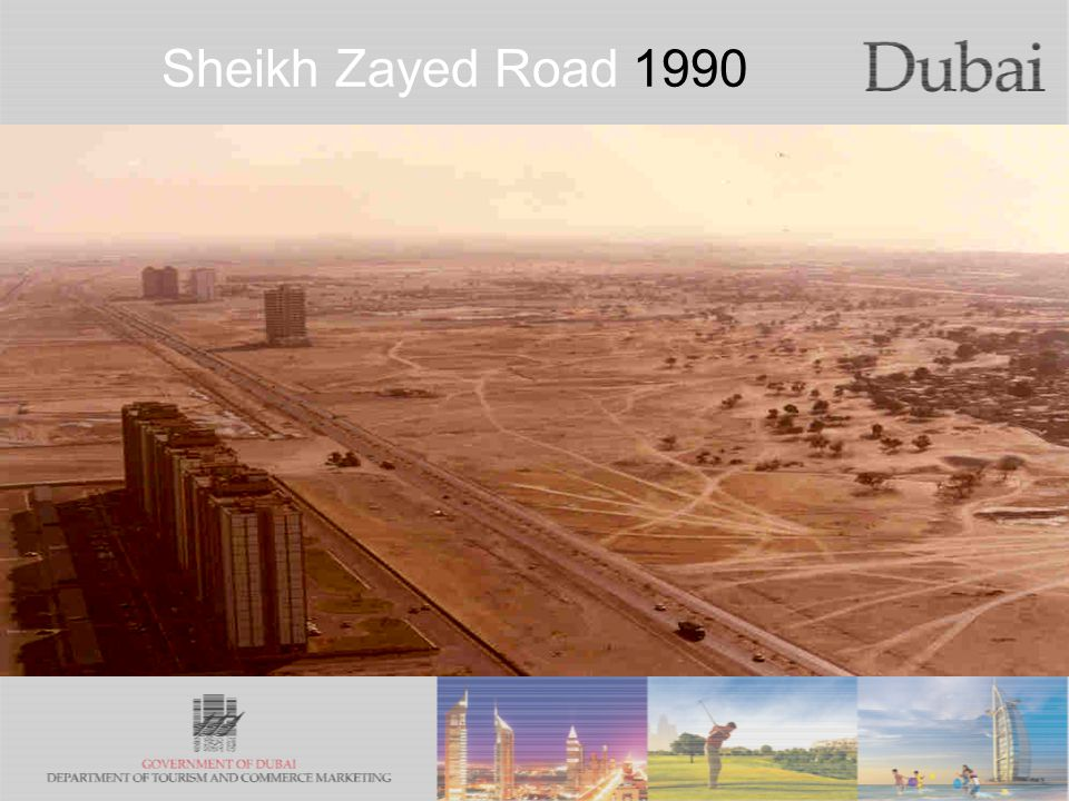 The City of Gold Sheikh Zayed Road 1990