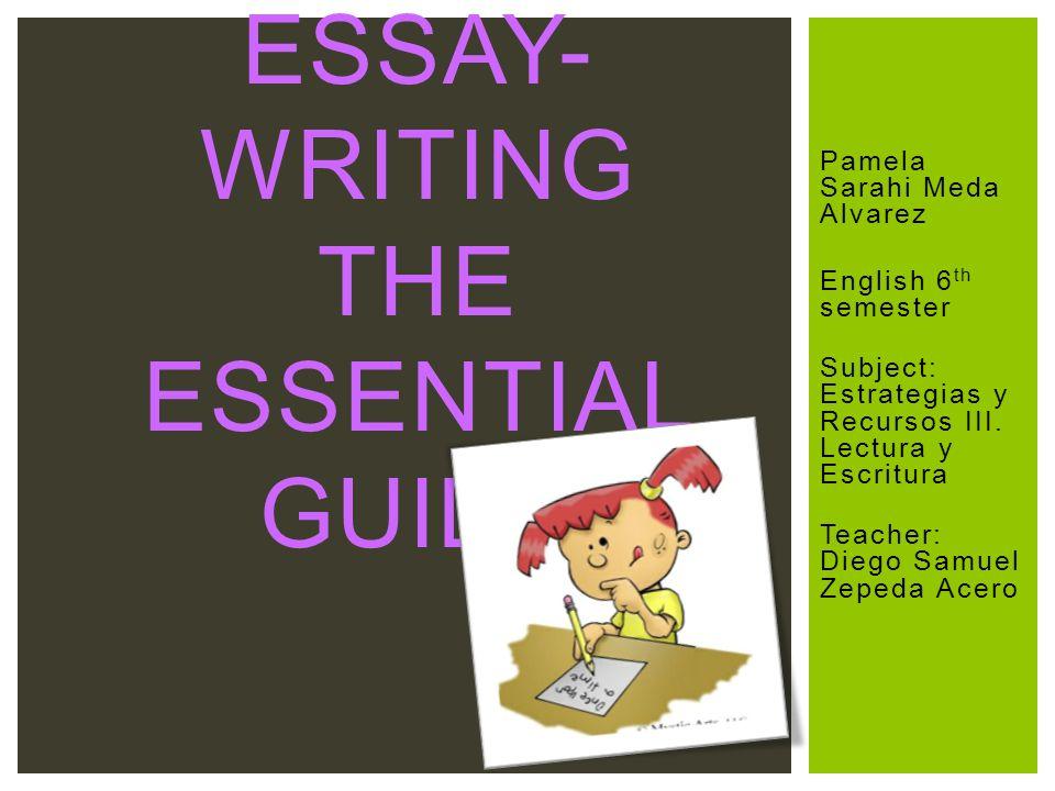 Pamela Sarahi Meda Alvarez English 6 th semester Subject: Estrategias y Recursos III.