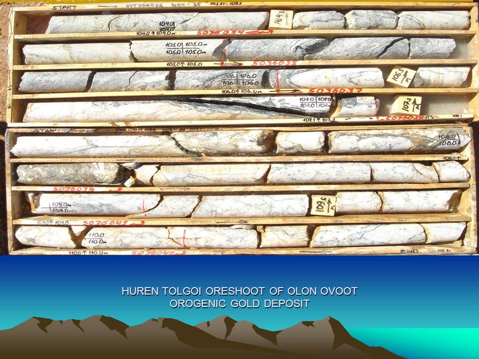 HUREN TOLGOI ORESHOOT OF OLON OVOOT OROGENIC GOLD DEPOSIT