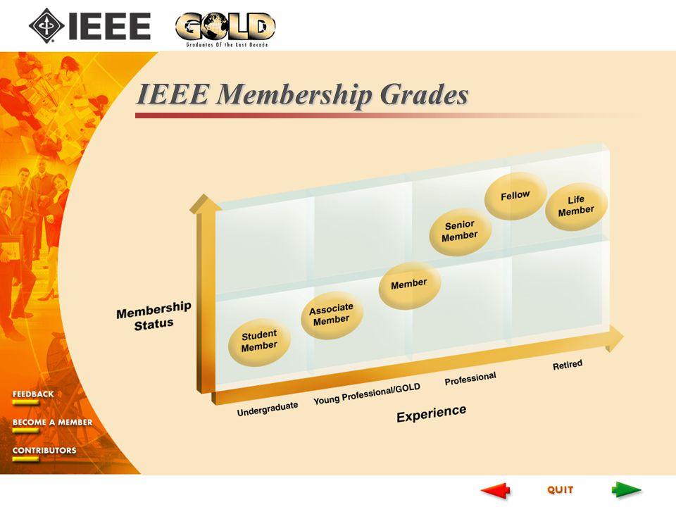 IEEE Membership Grades