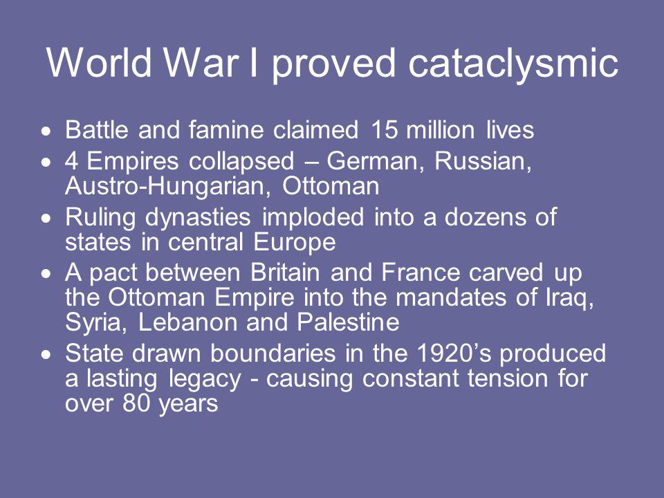 The gold standard collapsed with the war.