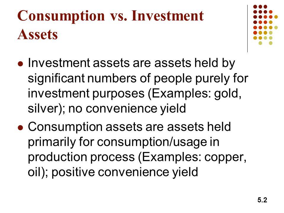 5.2 Consumption vs.