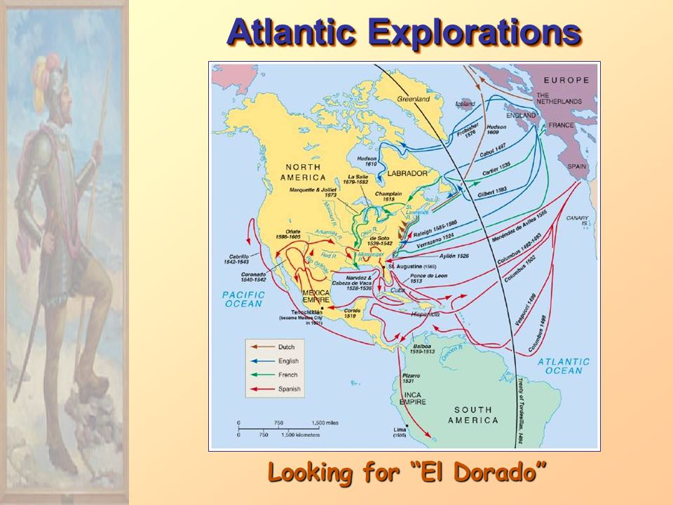 Atlantic Explorations Looking for El Dorado