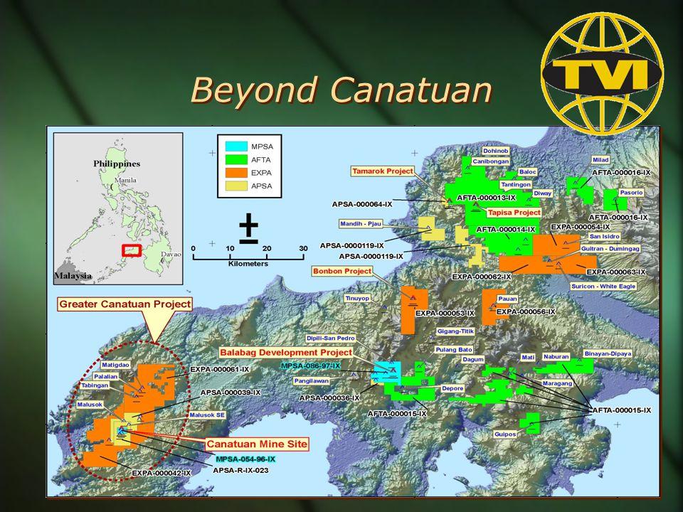 Beyond Canatuan