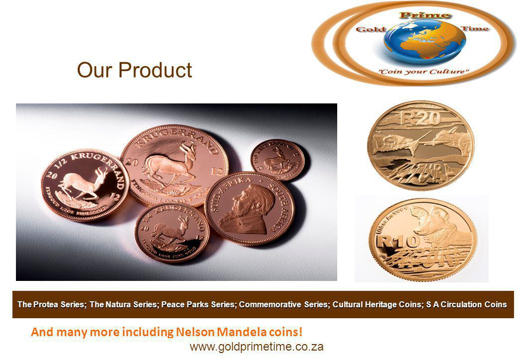 And many more including Nelson Mandela coins.