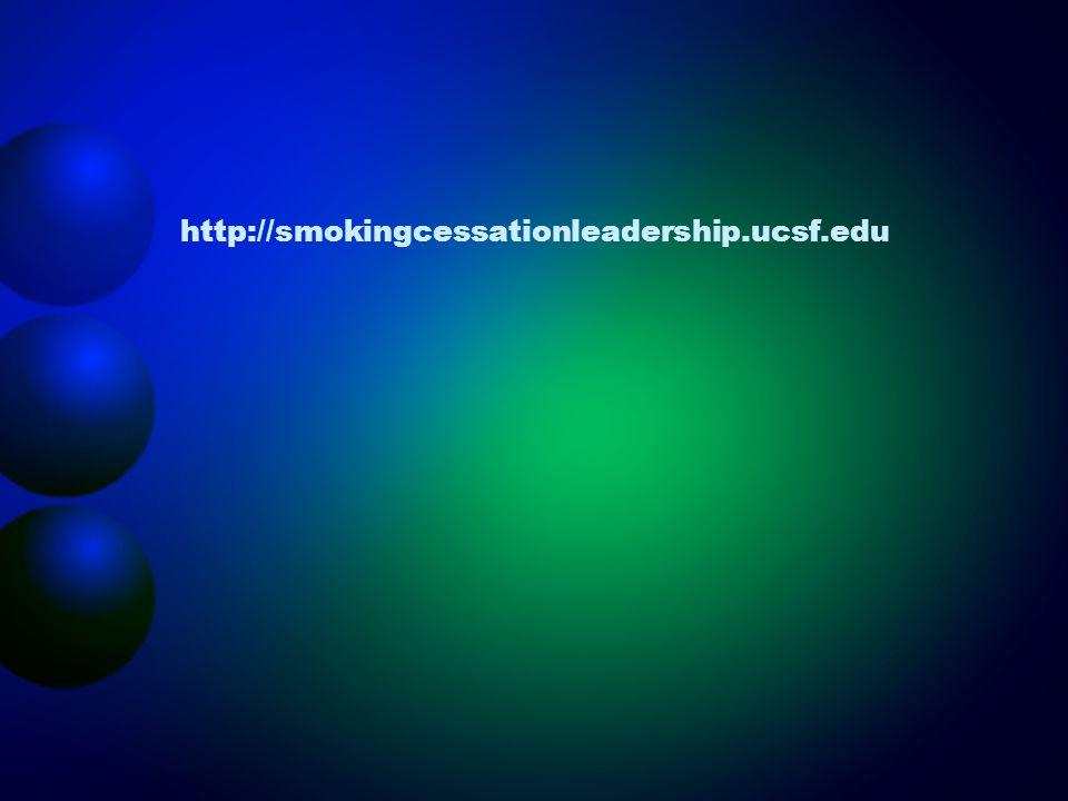 http://smokingcessationleadership.ucsf.edu