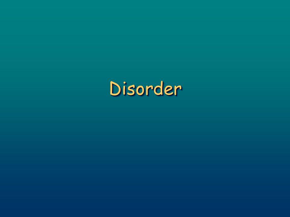 DisorderDisorder