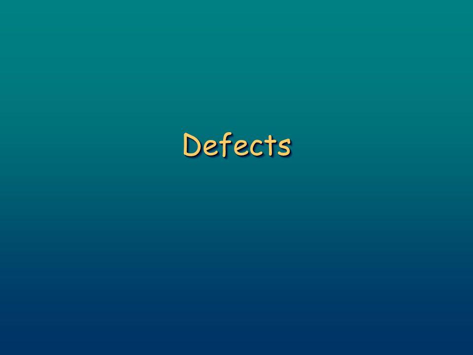 DefectsDefects