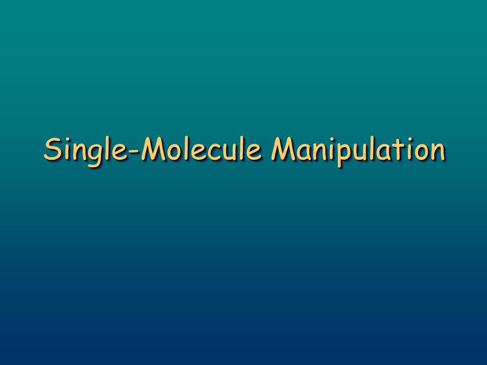 Single-Molecule Manipulation
