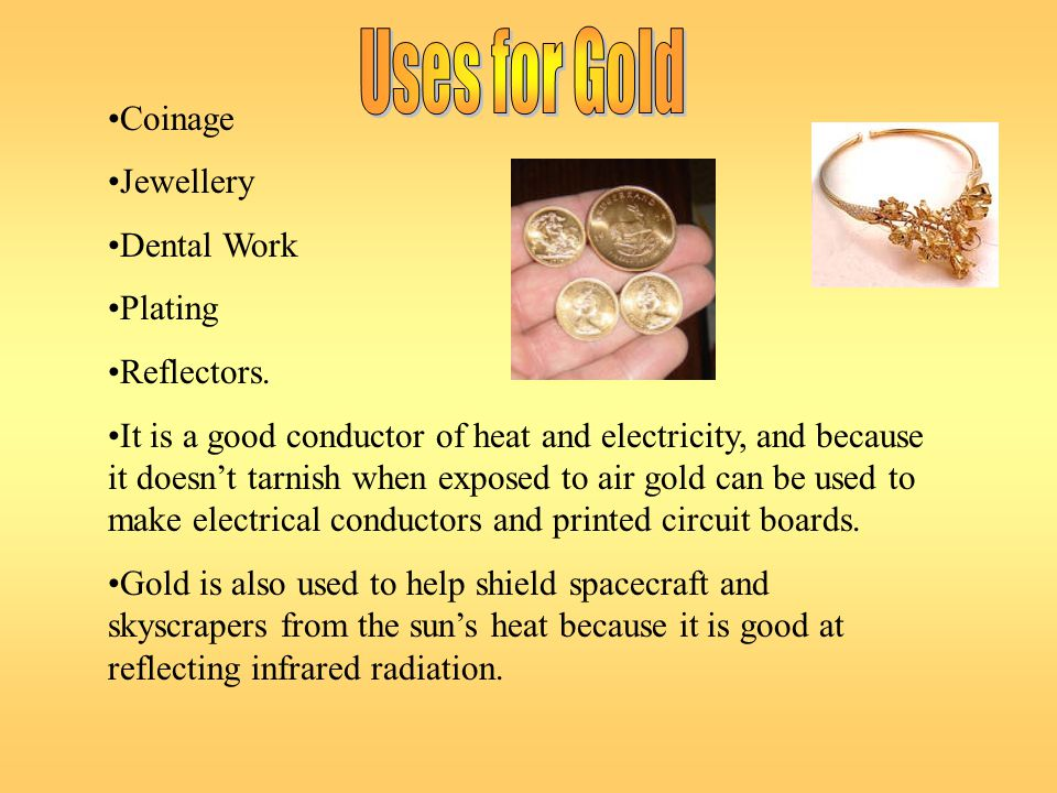 Gold-198 is a radioactive isotope of gold.It is used for treating cancer.
