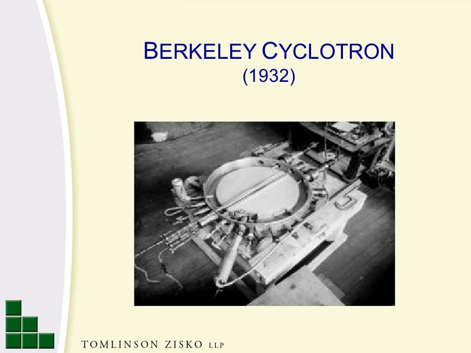 B ERKELEY C YCLOTRON (1932)