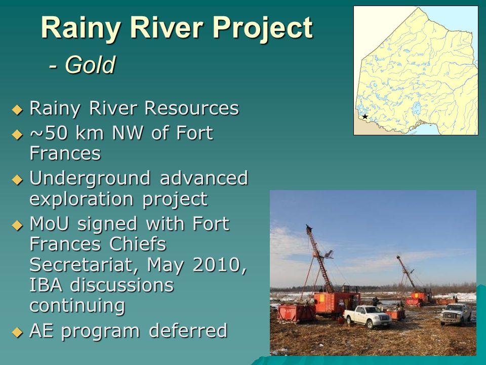 Hammond Reef Project – Gold Osisko Mining Inc.Osisko Mining Inc.