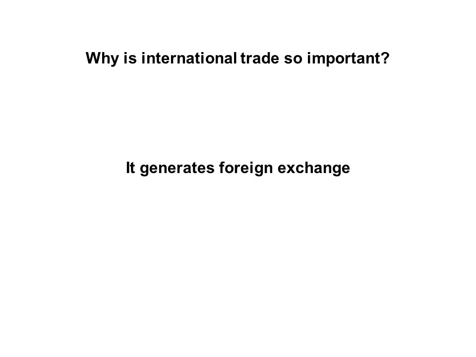 The IMS A true IMS appears when international trade becomes: significant permanent subject to international laws