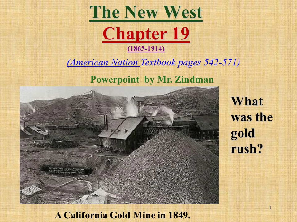 22 The cattle kingdom group up in the West during the 1870s.