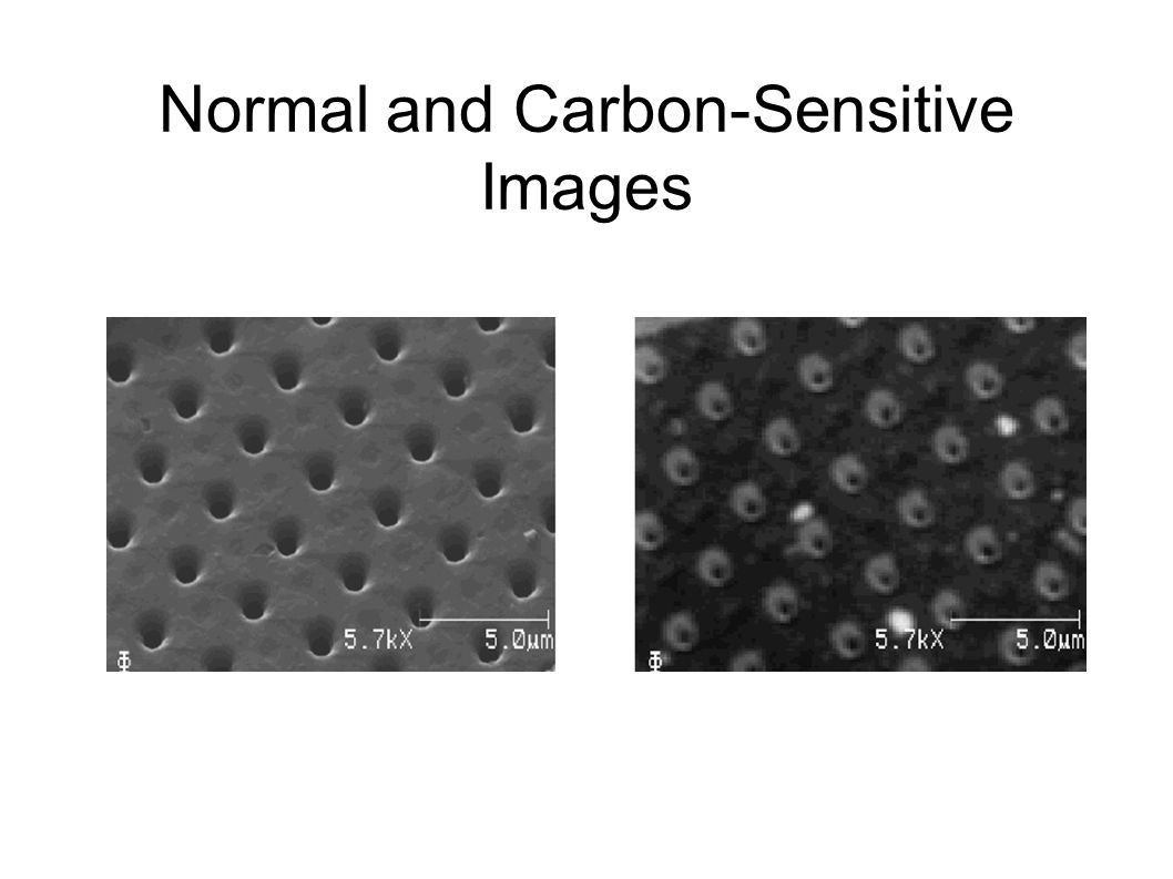 Normal and Carbon-Sensitive Images