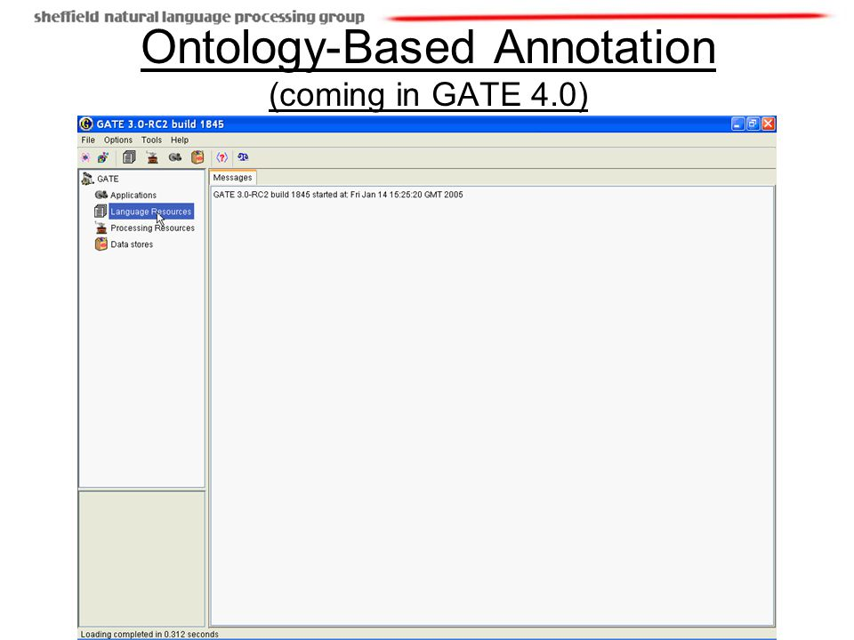 12/(19) Ontology-Based Annotation (coming in GATE 4.0)