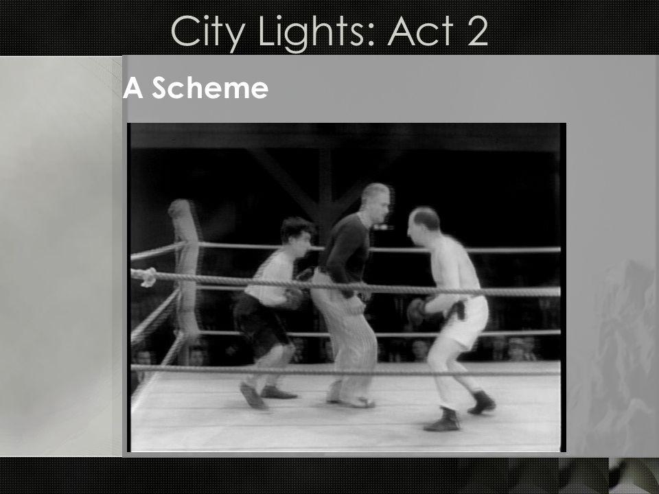 City Lights: Act 2 A Scheme