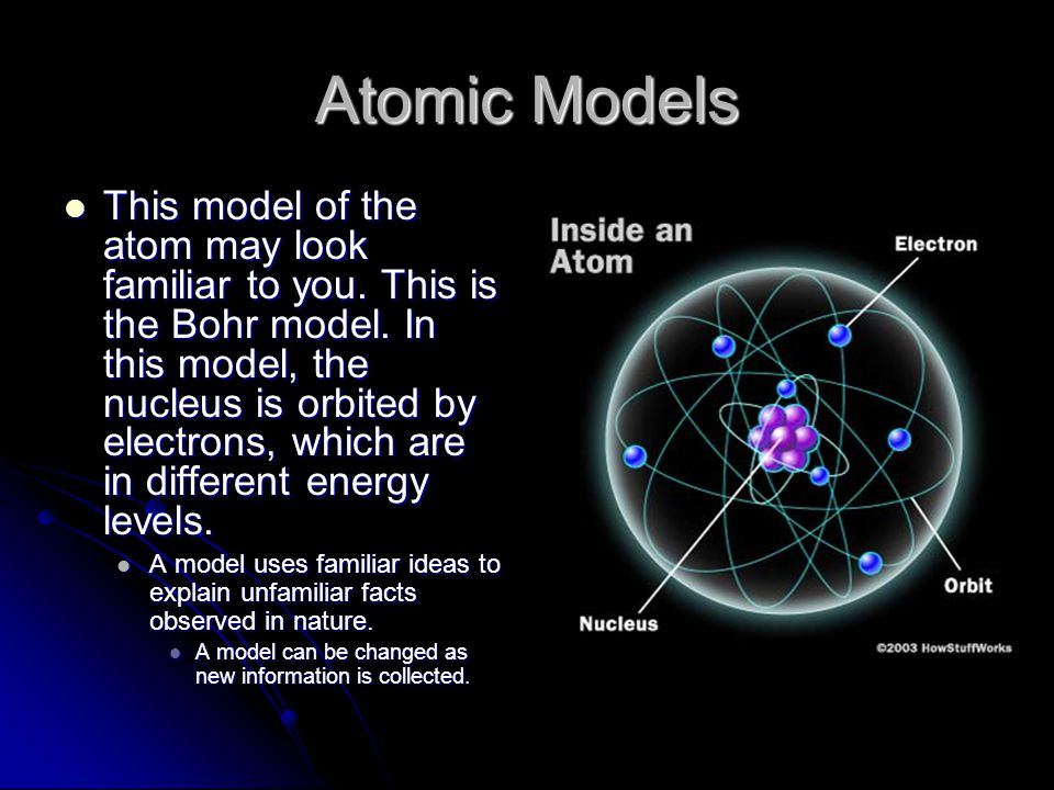 The atomic model has changed throughout the centuries, starting in 400 BC, when it looked like a billiard ball The atomic model has changed throughout the centuries, starting in 400 BC, when it looked like a billiard ball