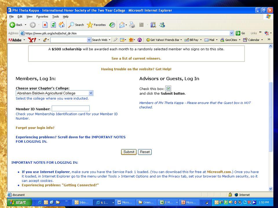 Searching PTKs eScholarship Directory, 4