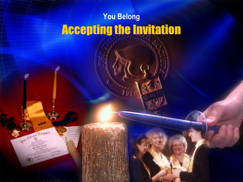 Accepting the Invitation You Belong