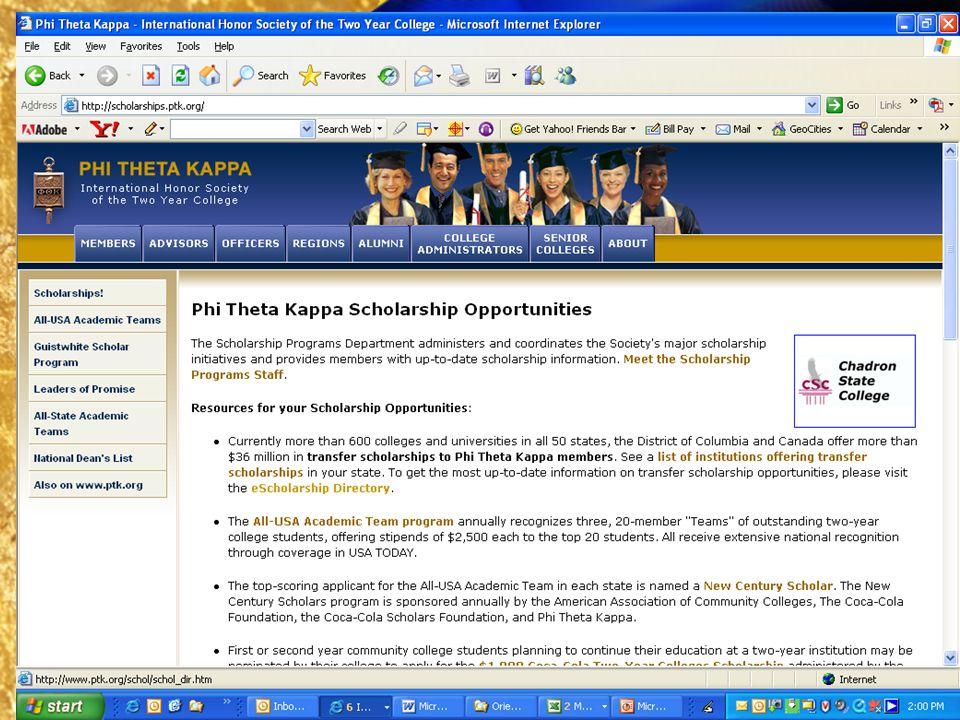 Searching PTKs eScholarship Directory, 3
