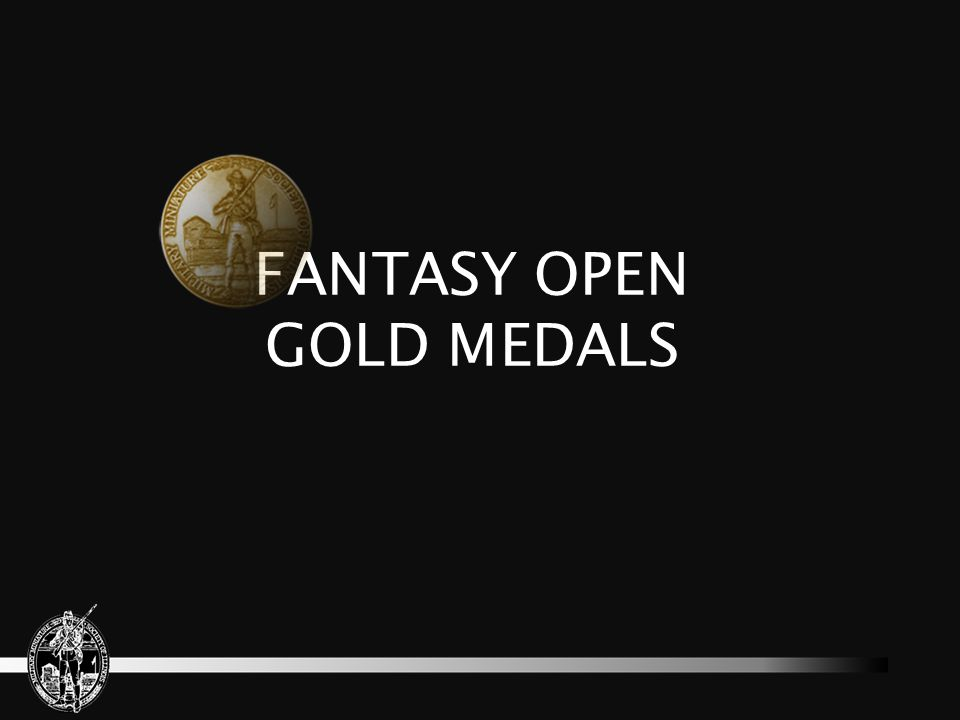 FANTASY OPEN GOLD MEDALS