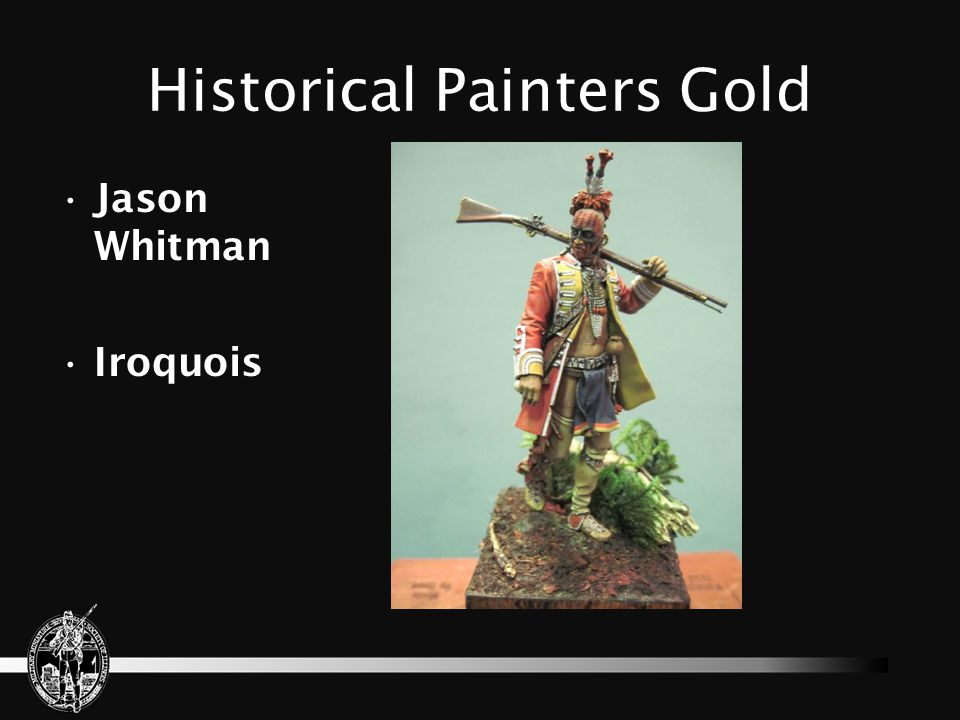 Historical Painters Gold Jason Whitman Iroquois
