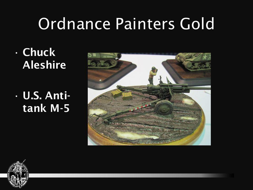 Ordnance Painters Gold Doug Somers M4 Composite Sherman