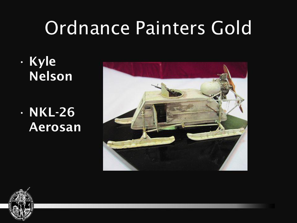 Ordnance Painters Gold Ian Dow Frog Tank
