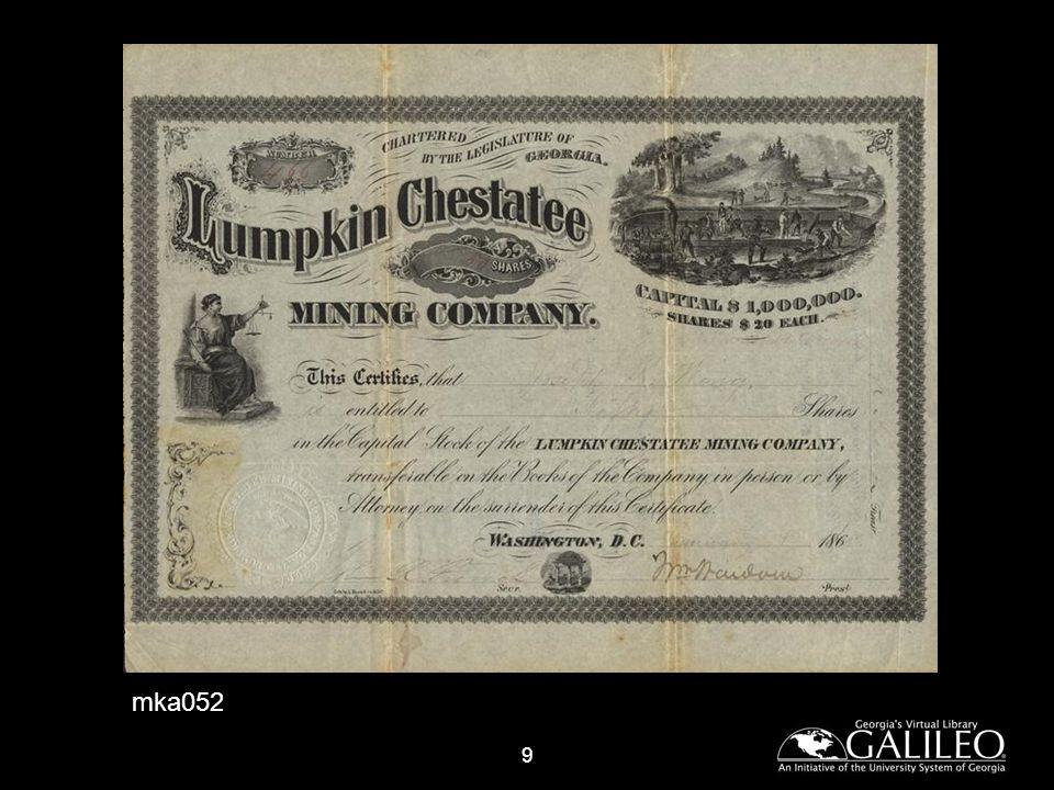 10 Findley Gold Mining Company 1878 Prospectus (mka045f)