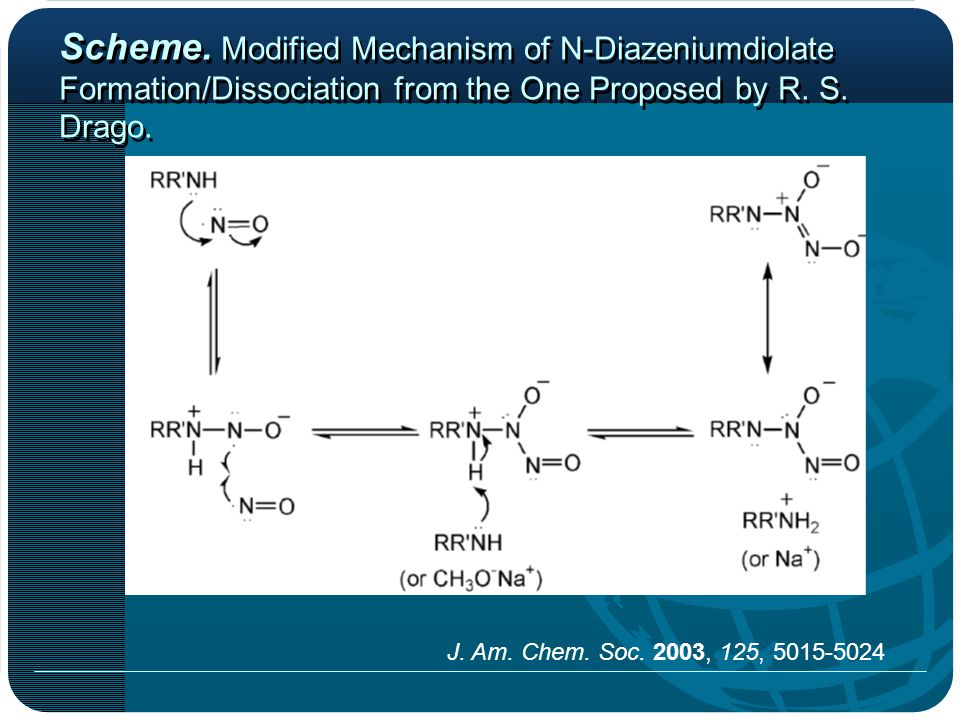 Scheme. Modified Mechanism of N-Diazeniumdiolate Formation/Dissociation from the One Proposed by R.