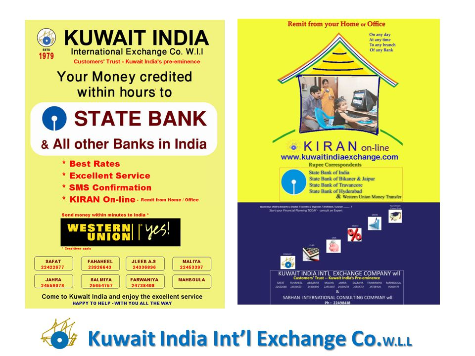 Kuwait India Intl Exchange Co. W.L.L
