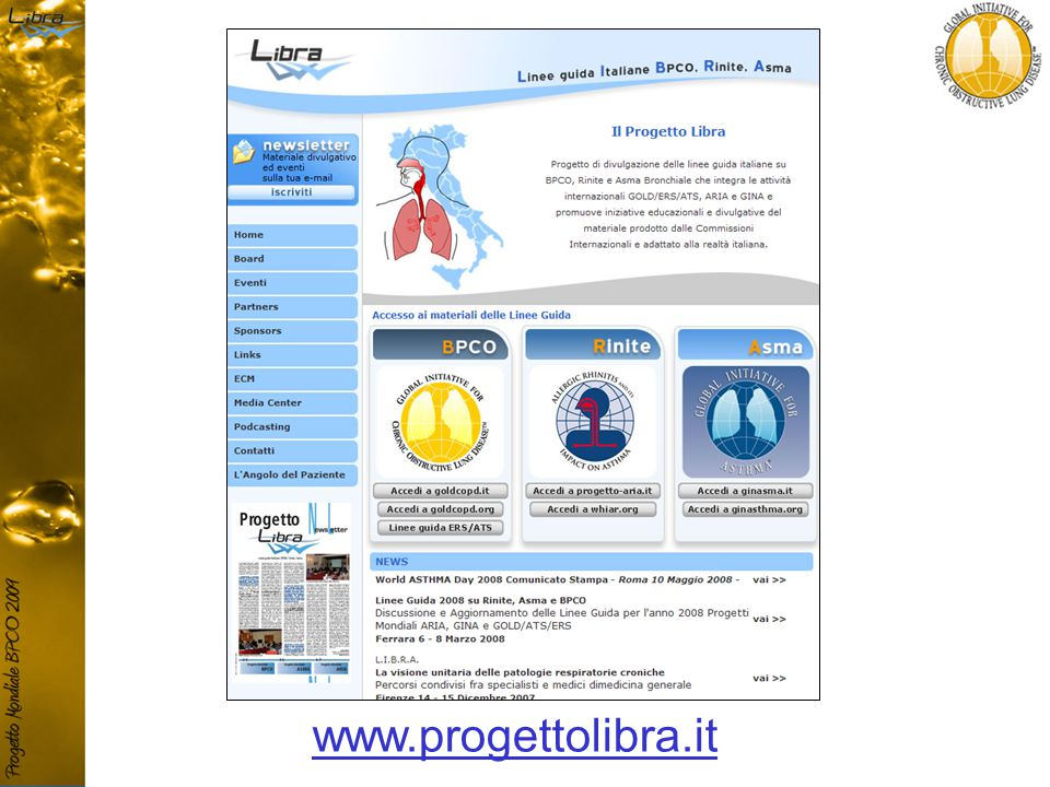 www.progettolibra.it