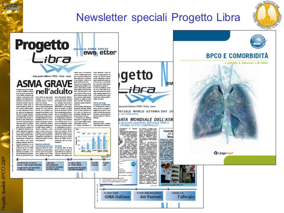 Newsletter speciali Progetto Libra