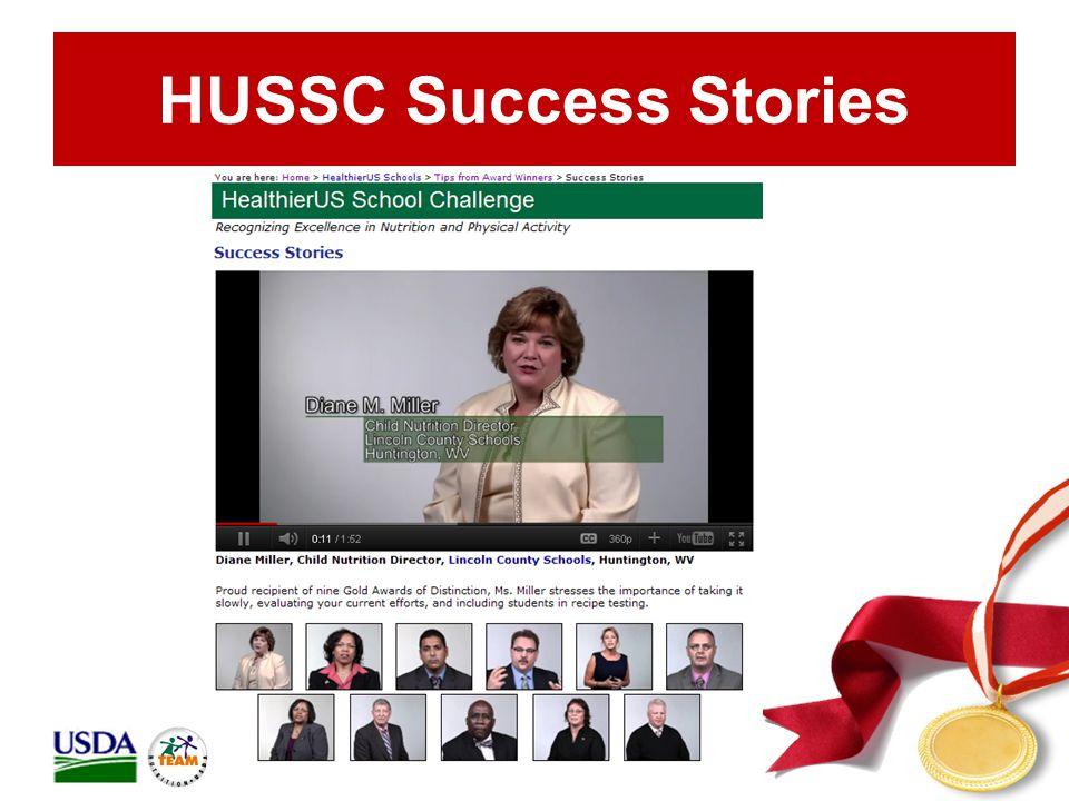 HUSSC Success Stories