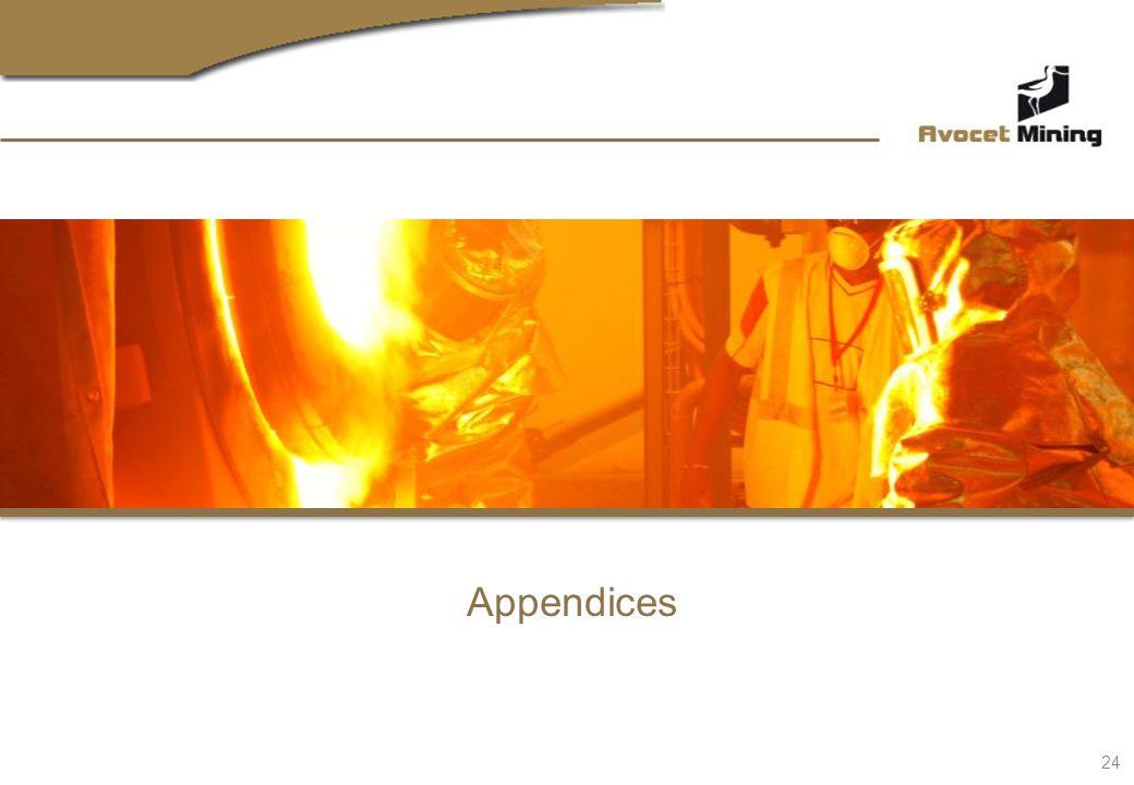 Appendices 24
