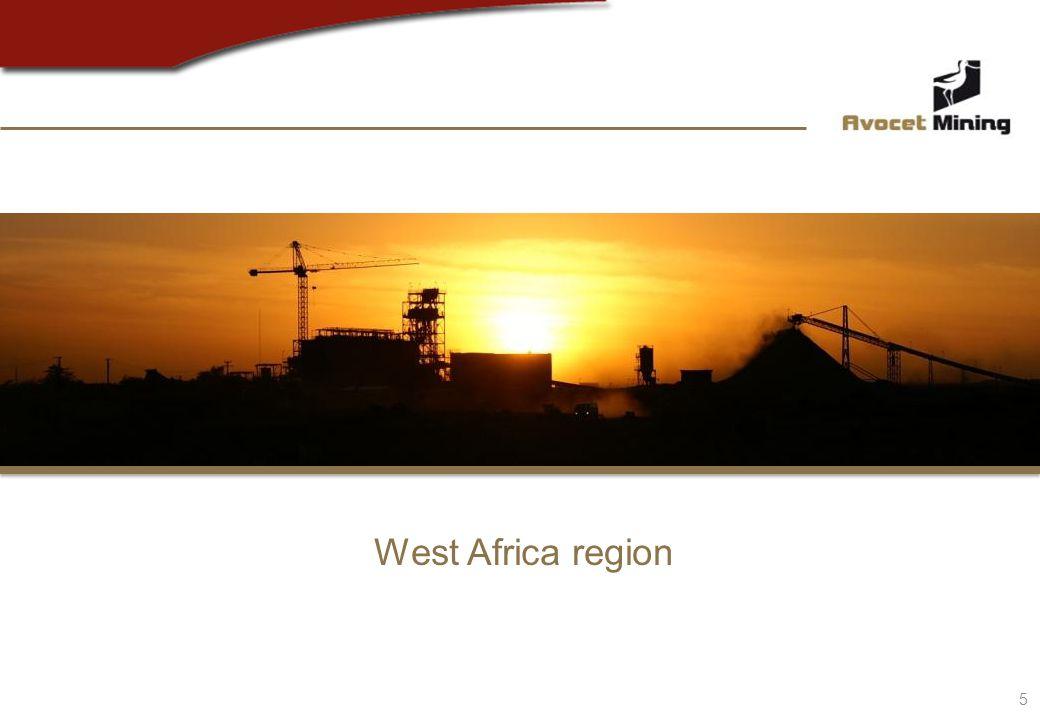 5 West Africa region