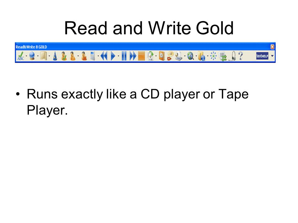 How to use it: Read and Write Gold Instructions Open the document.