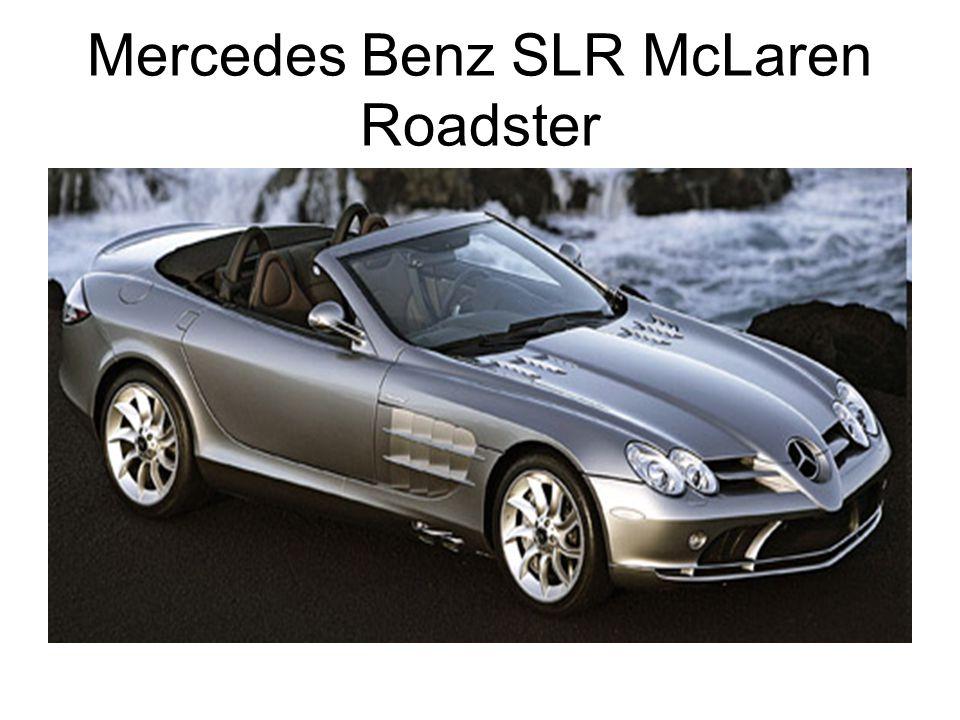 Mercedes Benz SLR McLaren Roadster