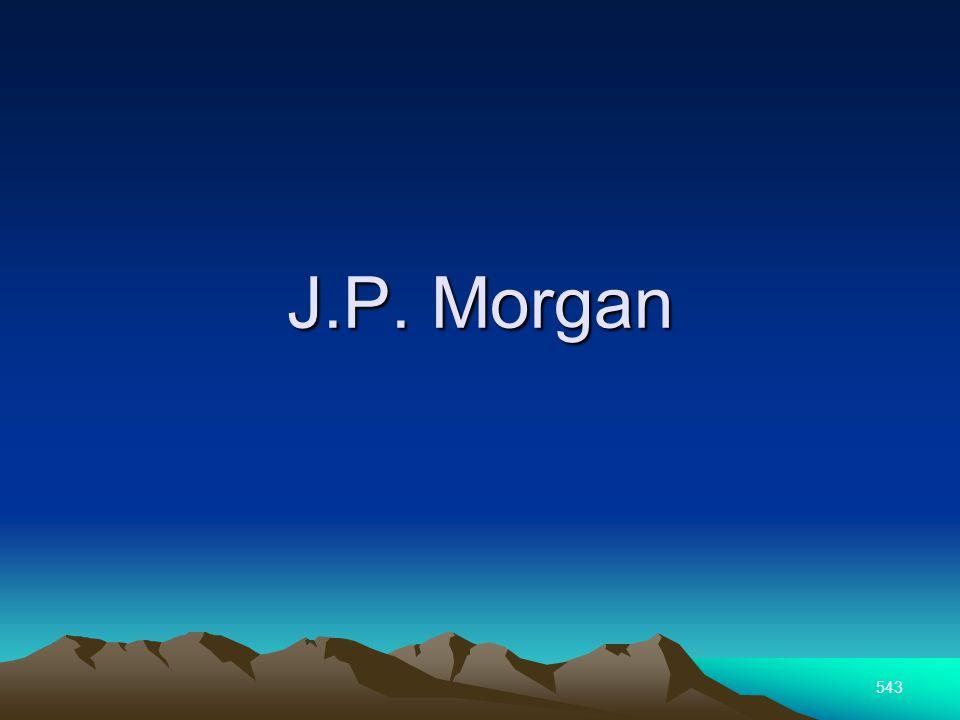 543 J.P. Morgan