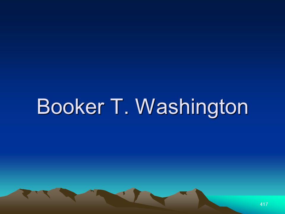 417 Booker T. Washington