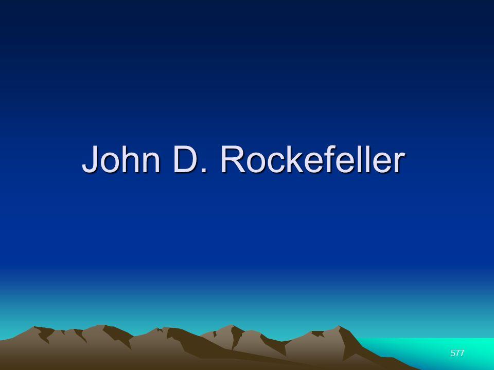 577 John D. Rockefeller