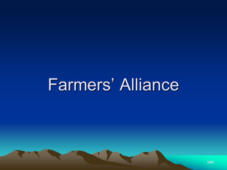 589 Farmers Alliance