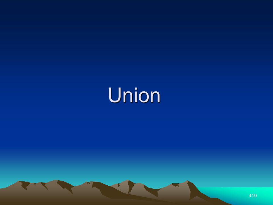 419 Union