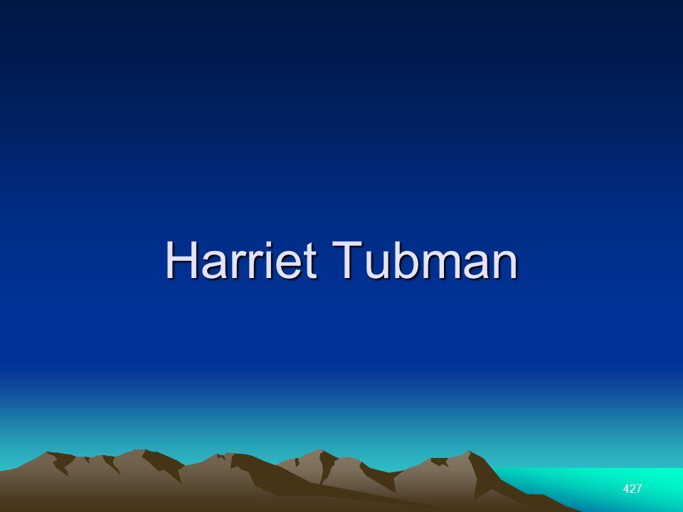 427 Harriet Tubman