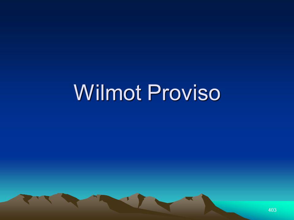 403 Wilmot Proviso