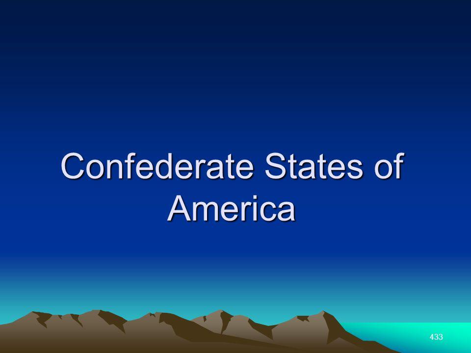 433 Confederate States of America